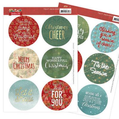 ADTD1002 Text Designs - Amy Design - Christmas Pets (EN)