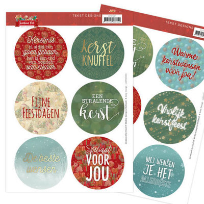 ADTD1001 Tekst Designs - Amy Design - Christmas Pets (NL)