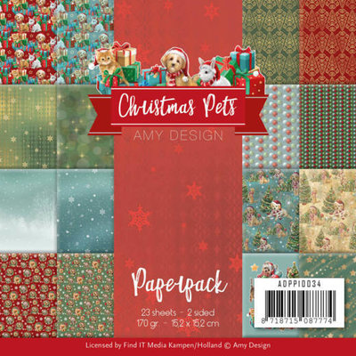 ADPP10034 Paperpack - Amy Design - Christmas Pets