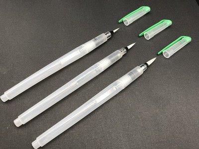 Nellies Choice Water penseel pen met tip medium 1 st WB003 19x1,5cm (08-20)