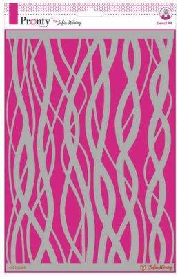 Pronty Stencil Waves 470.765.028 A4 Julia Woning (08-20)