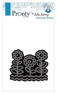 Pronty Foam stamps Sunflowers 494.904.023 Julia Woning (08-20)