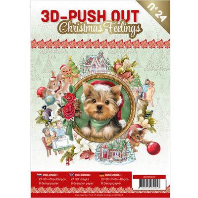 3D Push Out boek 24 - Christmas Feelings