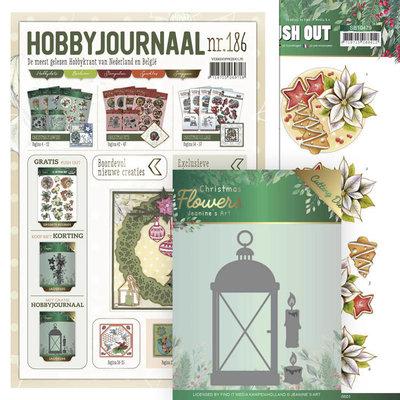 SETHJ186 Hobbyjournaal 186 SET met gratis uitdrukvel en mal JAD10104