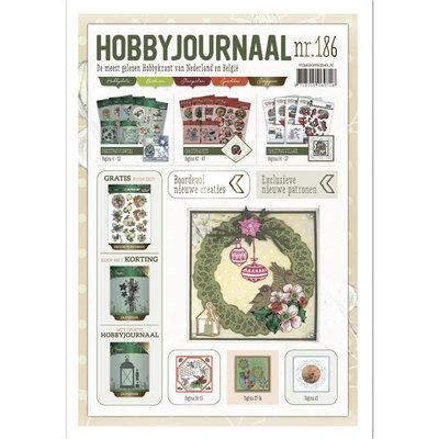 HJ186 Hobbyjournaal 186 met gratis uitdrukvel