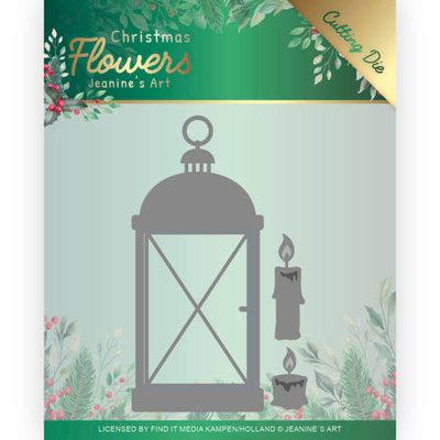 JAD10104 Dies Jeanines Art  Christmas Flowers Christmas Lantern