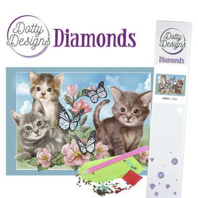 DDD1014 Dotty Designs Diamonds - Cats