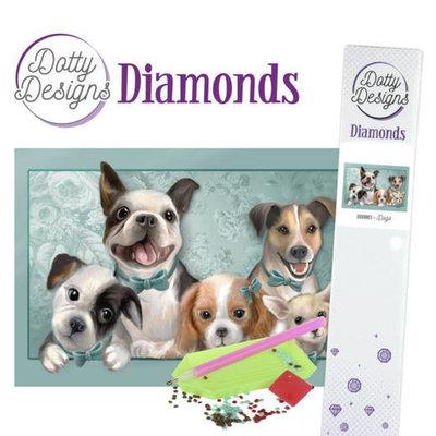DDD1013 Dotty Designs Diamonds - Dogs