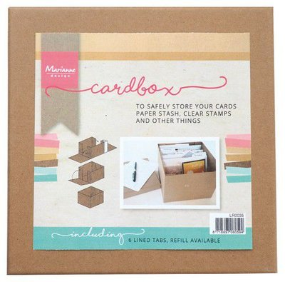 Marianne Design Tools Cardbox LR0035 225 x 225 x 30mm (09-20)