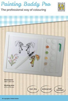 Nellies Choice Nellie's silicone Painting Buddy Pro NPBP001 working area: 210x210mm (09-20)