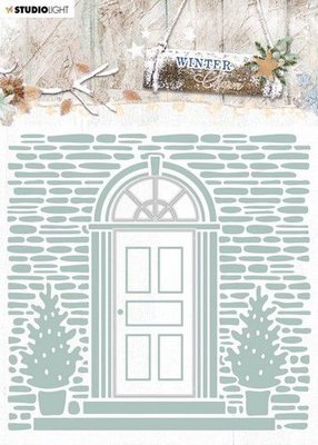 Studio Light Embossing Folder With Die Cut, Winter Charm nr. 07 EMBWC07 (09-20)