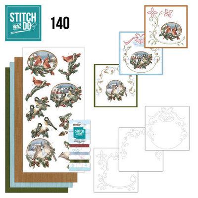 Stitch and Do 140 - Amy Design - Nostalgic Christmas - Christmas Birds