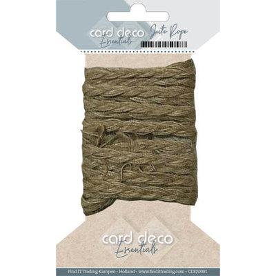 CDEJU001 Card Deco Essentials - Jute Rope