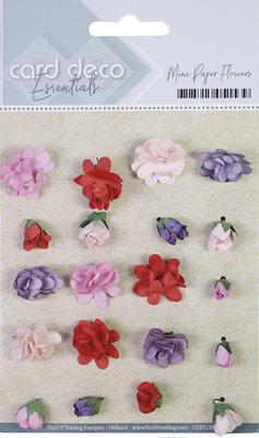 CDEFL001 Card Deco Essentials - Mini Paper Flowers - Pink