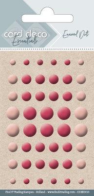 CDEED013 Card Deco Essentials - Enamel Dots Orange