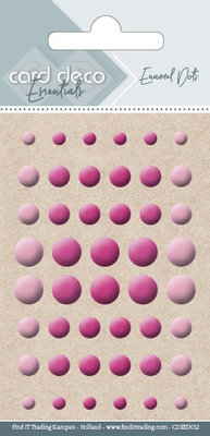 CDEED012 Card Deco Essentials - Enamel Dots Bright Pink