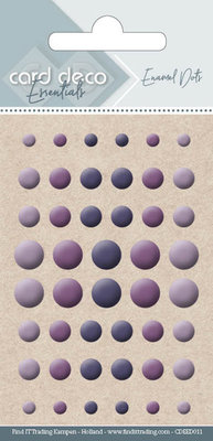 CDEED011 Card Deco Essentials - Enamel Dots Purple