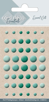 CDEED010 Card Deco Essentials - Enamel Dots Green
