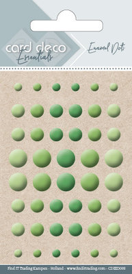 CDEED008 Card Deco Essentials - Enamel Dots Apple Green
