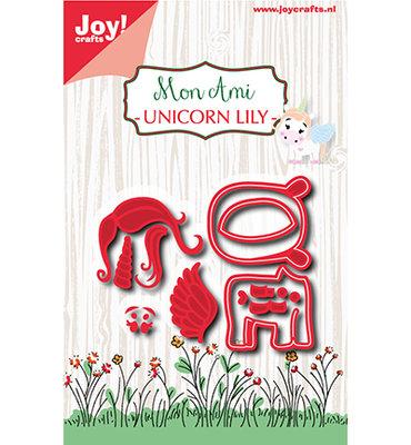 6002/1079 Joy! Crafts - Snijmal - Mon Ami - Unicorn Lily 62x52mm