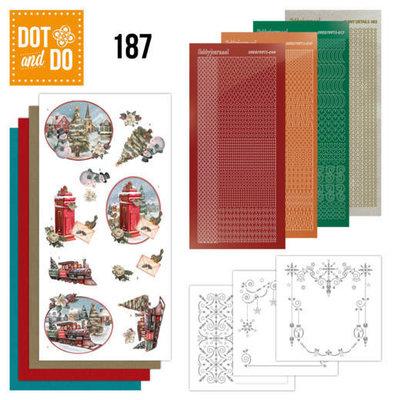 Dot and Do 187 - Amy Design - Nostalgic Christmas - Christmas Train