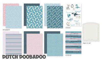 Dutch Doobadoo Crafty Kit Frosty Winter 472.100.007 (09-20)
