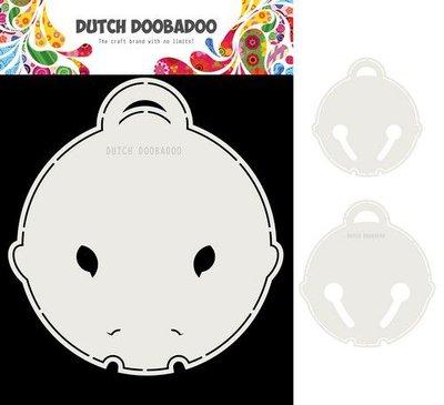 Dutch Doobadoo Card Art Kattenbel 2 set A5 470.713.814 (09-20)