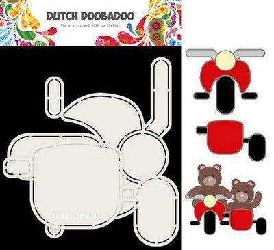 Dutch Doobadoo Card Art Motor en zijspan 2 set A5 470.713.813 (09-20)