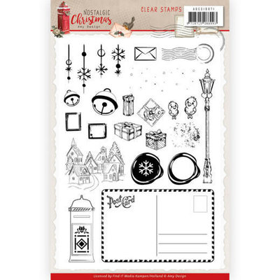 ADCS10071 Clear Stamps - Amy Design - Nostalgic Christmas
