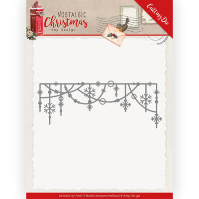 ADD10224 Dies - Amy Design - Nostalgic Christmas - Hanging Snowflakes