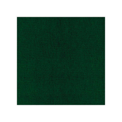 Linnenkarton - Oplegkaartjes - Kerstgroen - 12,8cmx12,8cm – 25 vel