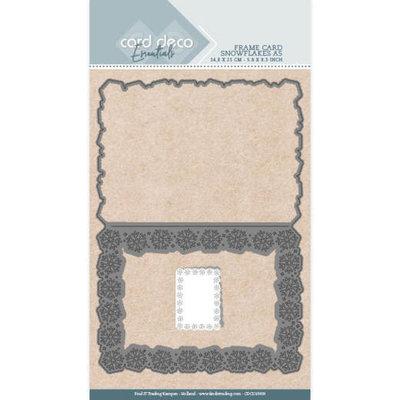 CDCD10009 Card Deco Essentials - Cutting Dies - Snowflakes A5