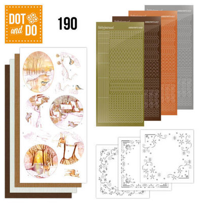 Dot and Do 190 - Jeanine's Art - Yellow Forest