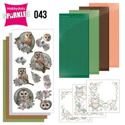 Sparkles Set 43 - Amy Design - Amazing Owls - Romantic Owls