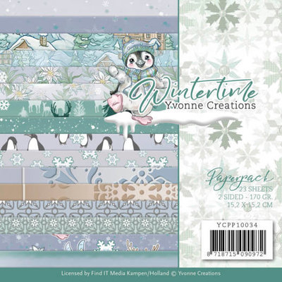 YCPP10034 Paperpack - Yvonne Creations - Winter Time