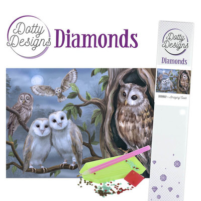 DDD1022 Dotty Designs Diamonds - Amazing Owls