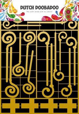 Dutch Doobadoo Dutch Paper Art A4 Sinterklaas 472.953.003 (10-20)