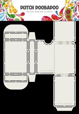 Dutch Doobadoo Dutch Box Art Speelkaarten A4 470.713.068 (10-20)