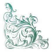 CO726914 Couture Creations Cornice Mini Stamp 50x50mm