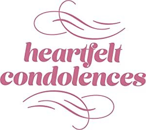 CO727410 Couture Creations Heartfelt Condolences Mini Stamp 50x50mm
