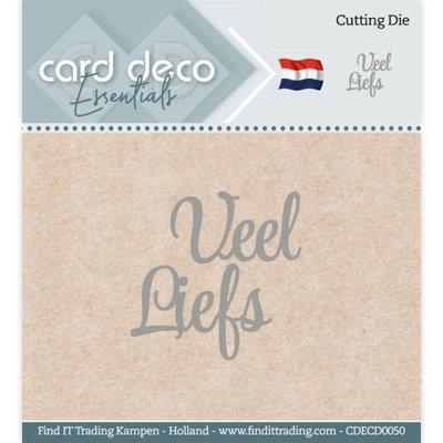 CDECD0050 Card Deco Essentials - Cutting Dies - Veel Liefs