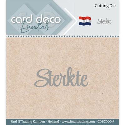 CDECD0047 Card Deco Essentials - Cutting Dies - Sterkte