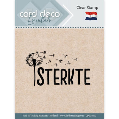 CDECS022 Card Deco Essentials - Clear Stamps - Sterkte