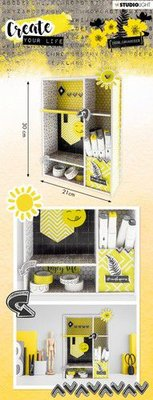 Studio Light MDF Set Create Your Life Desk Organizer nr.54 MDFSL54