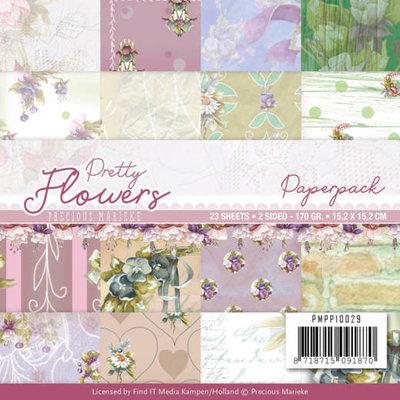 PMPP10029 Paperpack - Precious Marieke - Pretty Flowers
