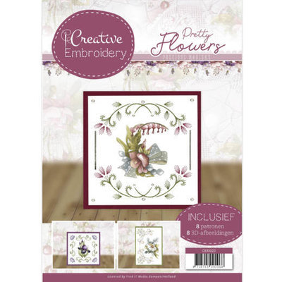 CB10020 Creative Embroidery 20 - Precious Marieke - Pretty Flowers