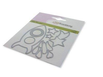 CraftEmotions Die - Space 1 Card 11x9cm Carla Creaties (11-20)