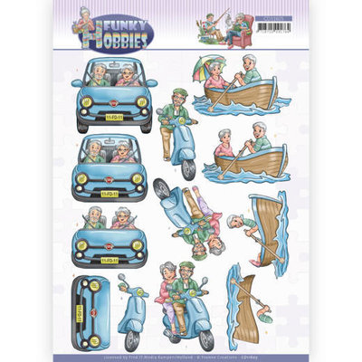 CD11605 3D cutting sheet - Yvonne Creations - Funky Hobbies - A day out