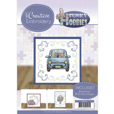 CB10021 Creative Embroidery 21 - Yvonne Creations - Funky Hobbies