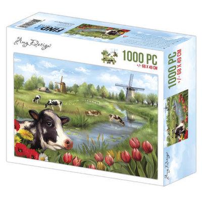 ADZP1009 Jigsaw puzzel 1000 pc - Amy Design - The Netherlands